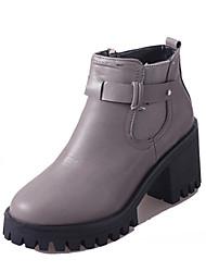 Damen / Mädchen-Outdoor / Loafers & Slip-Ons-Büro / Kleid / Lässig-Kunstleder-Blockabsatz-Absätze / Plateau / Gladiator / Pumps /