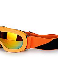 doubles lunettes professionnelles de ski anti-brouillard de grandes lunettes sphériques lunettes de ski myopie xh-118 cartes
