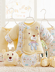 Manufacturers genuine warm winter male and female baby infant children suit coat thick padded cotton suit 1-2 years 6