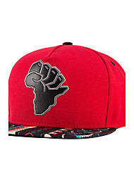 Hip Hop Men Women Africa Map Embroidery Red Street Dance Cool Baseball Caps