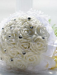 18 Simulation Flowers White The Bride Holding Flowers(only white)