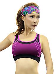 Yoga Intimo/Maglia Intima Asciugatura rapida Traspirante Compressione Elastico Abbigliamento sportivo Yoga Corsa Per donna