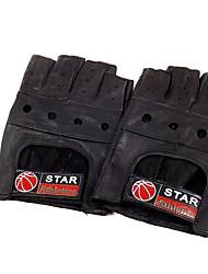 gants en cuir gants en cuir cuir semi-sports doigt gants de conditionnement physique des gants de moto pour hommes