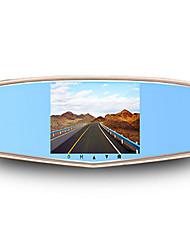 hd écran de 5 pouces nouvel enregistreur de conduite double lentille 1080p surveillance de stationnement de vision nocturne t700