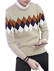 The autumn winter new Korean men sweater sleeve head Shirt Youth slim men sweater long sleeved T-shirt