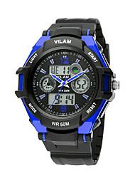 Infantil / Unissex Relógio Esportivo Quartz / Digital LCD / Cronômetro / Noctilucente / Resistente ao Choque Plastic BandaVintage /