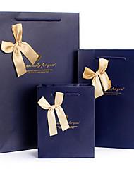 Mid-Grade Gift Bag Paper Bag Vertical Version Of Commerce Favor Bags Bags Bows Gift Bag D05