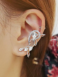 Women's Adorable Rock Statement Jewelry Personalized Imitation Diamond Alloy Wings / Feather Jewelry For Daily Casual
