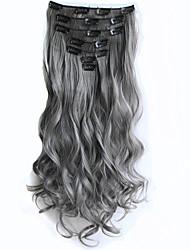 Com Presilha Sintético Extensões de cabelo 130 Alongamento