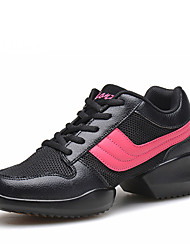 Non Customizable Women's Dance Shoes Leatherette Leatherette Dance Sneakers / Modern Boots /