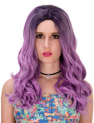 Black purple  gradient long hair wig.WIG LOLITA, Halloween Wig, color wig, fashion wig, natural wig, COSPLAY wig.