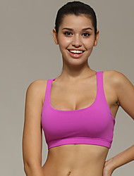 Femme Sans manche Course / Running Soutien-Gorges de Sport Shirt Vêtements de Compression/Sous maillotRespirable Séchage rapide