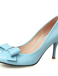 Women's Heels Spring / Summer / Fall / Winter Heels / Jelly / Wedding / Dress / Casual Stiletto HeelBowknot /