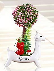 Fleurs / Botaniques / Animaux Polyrésine Rustique,