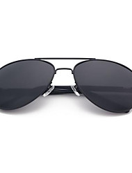 Men's Sunglasses Polarizer Sunglasses Eye Ggoggles 209-1 (Sale Black Frame Gray Sheet Polarizer)