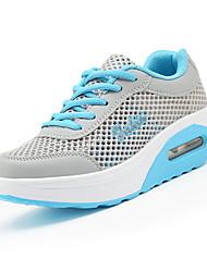 Da donna-Sneakers-Sportivo-Ballerine-Piatto-Tulle-Blu / Rosa / Pesca