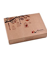 Brown Color Other Material Packaging & Shipping 6 Moon Cake Kraft X141 Packing Boxes A Pack of Six