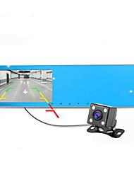 Автомобиль зеркало заднего вида реверсивный двойной линзы вождения записи HD ночного видения рекордер 1080p автомобиля
