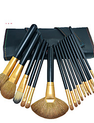 16 Makeup Brush Set Eyelash Suit
