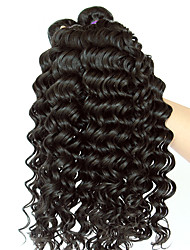 3 Pieces Straight Human Hair Weaves Malaysian Texture 300 10-26 Human Hair Extensions