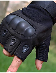 Tactical Semi Finger Man Riding Gloves Anti Slip Bicycle Motorcycle Gloves