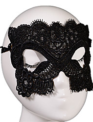 Lace Mask 1pc Le maschere per le vacanze Decorazione per feste Fantastico / Di tendenza Taglia unica Nero / Bianco Pizzo
