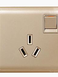 interruptor eletrônico instrumentos de medição de metal material de cor de ouro fonte de alimentação AC
