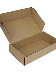 Fest Ebene Box, Karton, Verpackungen Boxen, Spezifikation: 40 * 10 * 29 (cm), Wellpappe, eine Packung mit 5