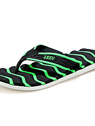 Unisex Sandals Summer Sandals Fabric Casual Flat Heel Others Black / Blue / Green / Orange Others