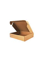 Brown Color Packaging & Shipping T4 25*20*7CM Packing Boxes A Pack of Eight