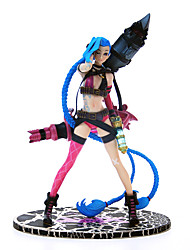 kiniks Jenks feraient lolita emballement ligue jinx lol garage kit d'anime modèle figurines jouets