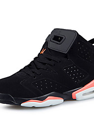 Men's Athletic Shoes Spring / Fall Comfort / Tulle Athletic Flat Heel Lace-up Black / White / Orange Basketball