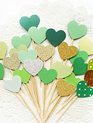 10 Pcs Cupcake Toppers Party Birthday