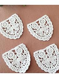 Embroidery Family White Cotton 1 pc