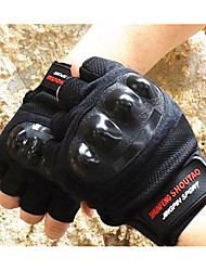 Motorcycle Riding Gloves Half Finger Thick Gloves Wear Non-Slip Climbing Training