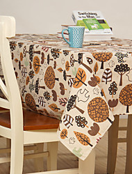 Cotton Blend Rectangular Table Cloth