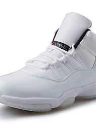 Damen-Sneaker-Sportlich-PU-Flacher Absatz-Komfort-Schwarz Weiß Schwarz und Rot