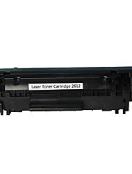novo cartucho de fácil 12a pó de impressora a laser