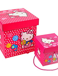 Pink Color, Other Material, Packaging & Shipping, 24*24*26cm, Gift Boxes, A Pack of Two