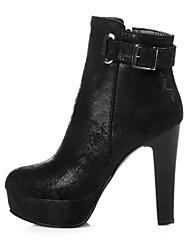 Women's Boots Spring / Fall / Winter Platform / Fashion Boots  / Glitter / Customized MaterialsOffice & Career