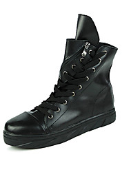 Men's Fashion Boots Casual/Party & Evening/Youth Breathable Microfibre Hight-top Board Shoes