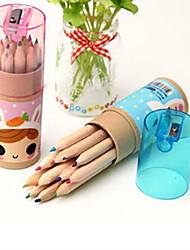 Lovely Constellation Girl 12 Small Color Pencil Drawing Pen (Random Style)