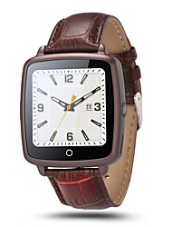 Fashion SmartWatch U11C Leather Strap Watch Support Micro SIM Card Bluetooth Connectivity for Apple Android Phone