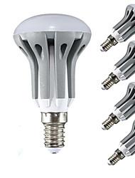 5W E14 Круглые LED лампы R50 18 SMD 2835 450LM lm Тёплый белый / Холодный белый Декоративная AC 220-240 V 5 шт.