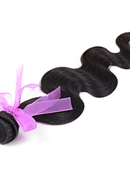 "Celebrity Hair Wefts Best Brazilian Hair Body Wave hair Cheap Brazilian Hair Weave #1B 16"" 1Piece 100g"