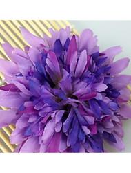 Wedding/Birthday Crafts Orange / Pink / Yellow / Green / Blue / Purple 1pc Floral Crafts Polyester 1pc