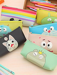 Waterproof Cute Cartoon Stereoscopic Pen Boxes
