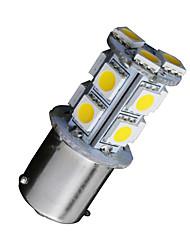 10x теплый белый автомобиль на колесах 1156 BA15S 13-SMD 5050 привело резервные обратной лампочки 1141