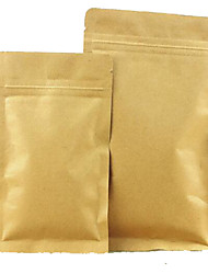 plat alimentaire ziplock ziplock sacs d'emballage de thé usine de sacs personnalisés kraft aluminium directement un paquet de dix