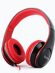 Beevo BV-HM740 Headphone Stereo Sound with Microphone Compatible with Cell phones and Computers